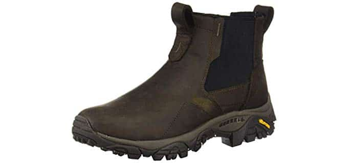 Merrel Men's Moab Adventure Chelsea - Slip On Winter Work Boot