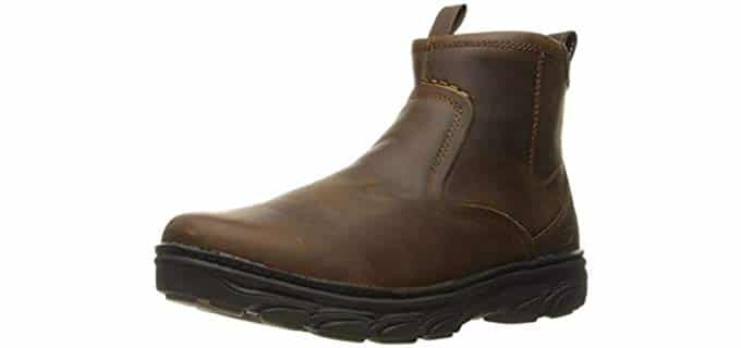 Skechers Men's Resment Korver Chukka - Slip On Work Boot
