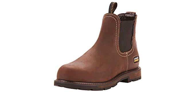 ARIAT Men's Groundbreaker Chelsea - Steel Toe Work Boot
