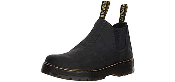 Dr. Marten's Men's Hardie Chelsea Boot - Leather Work Boot