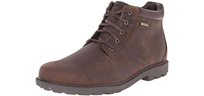 Rockport Men's Waterproof Storm Surge - Toe Boot