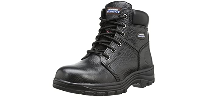 Skechers Women's Workshire Peril - Steel Toe Boot
