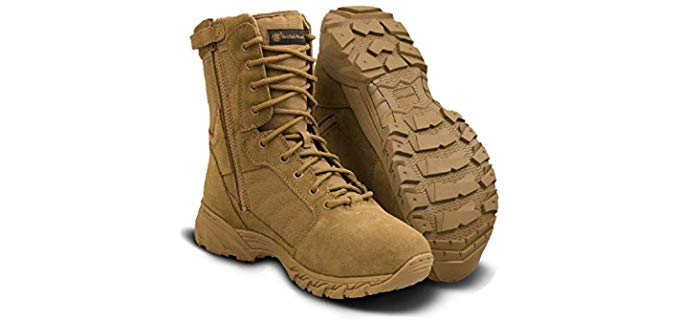 Smith & Wesson Men's Breach 2.0 - Tactical Size Zip Boots