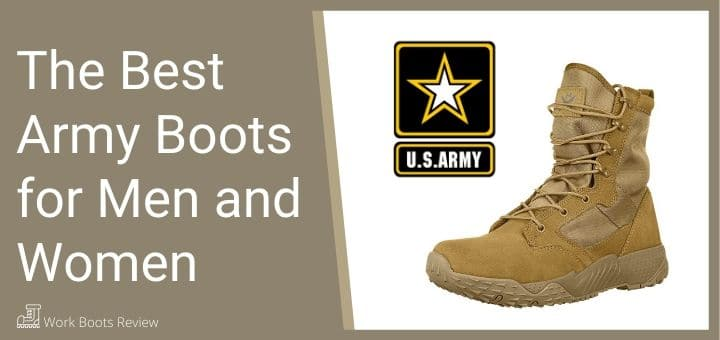 The Best Army Boots for Men and Women