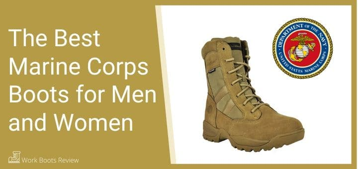 The Best Marine Corps Boots for Men and Women