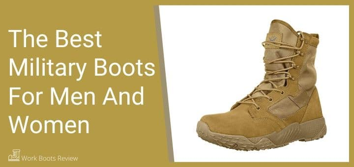 The Best Military Boots For Men And Women