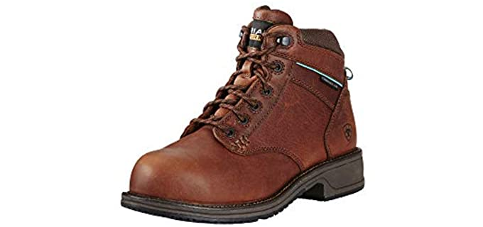 ARIAT Women's Casual Mid Lace - Composite Toe Work Boot