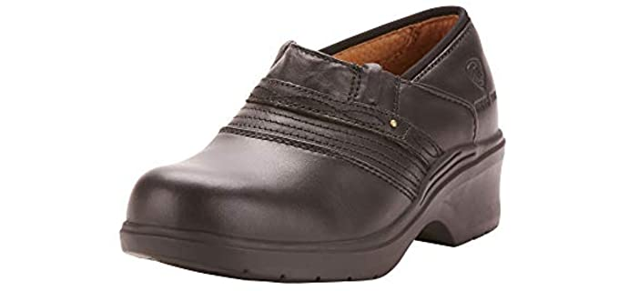 ARIAT Women's Safety Clog - Steel Toe Safety Clog