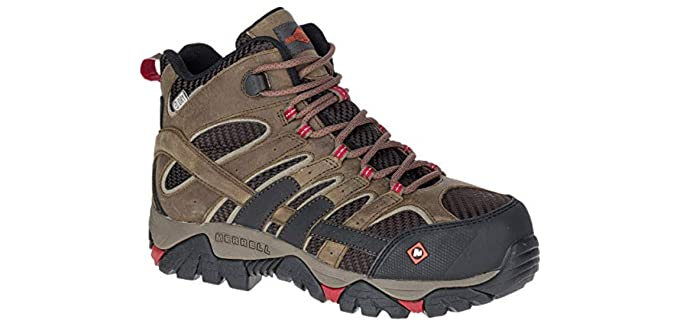 Merrell Women's MOAB 2 - Waterproof Work Boot