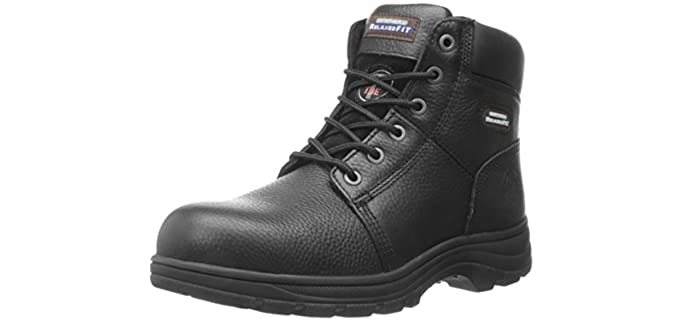 Skechers Men's Workshire Relaxed Fit - Steel Toe Boots