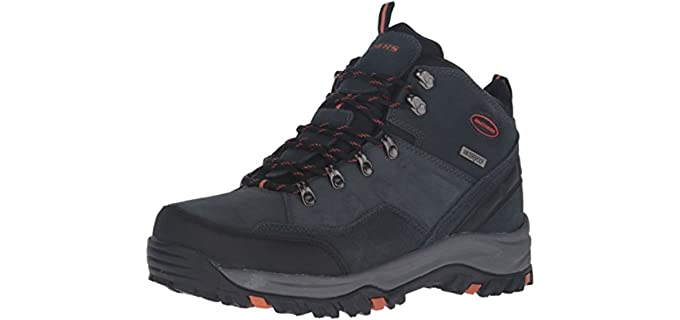 Skechers Men's Relment Pelmo Chukka - Waterproof Boot