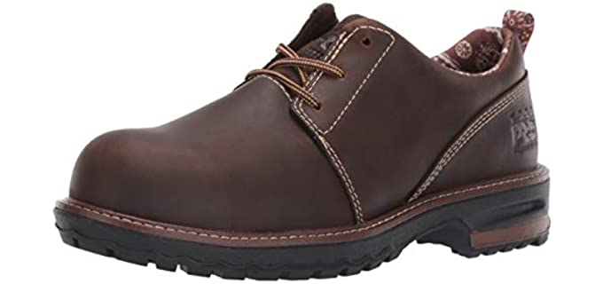 Timberland Women's Hightower Oxford - Composite Toe Industrial Boot