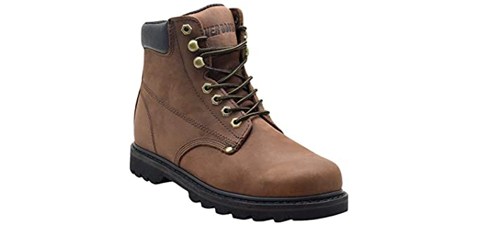 Ever Boots Men's Tank - Leather Work Boot