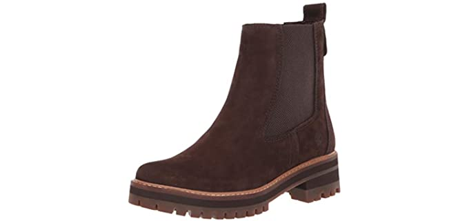 Timberland Women's Courmayeur Valley - Chelsea Fashion Boot
