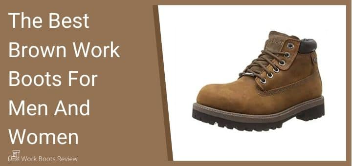 Brown Work Boots For Men And Women