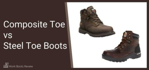 Composite Toe vs Steel Toe Boots