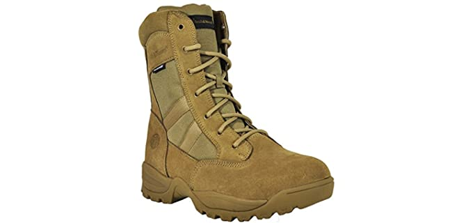 Smith & Wesson Men's Breach 2.0 - Tactical Side Zip Boot