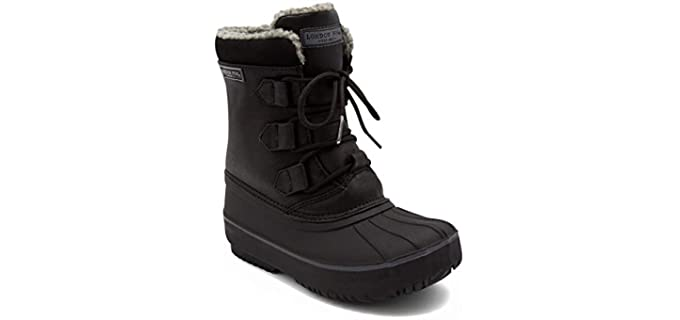 London Fog Men's Boys Cheshire - Cold Weather Snow Boot