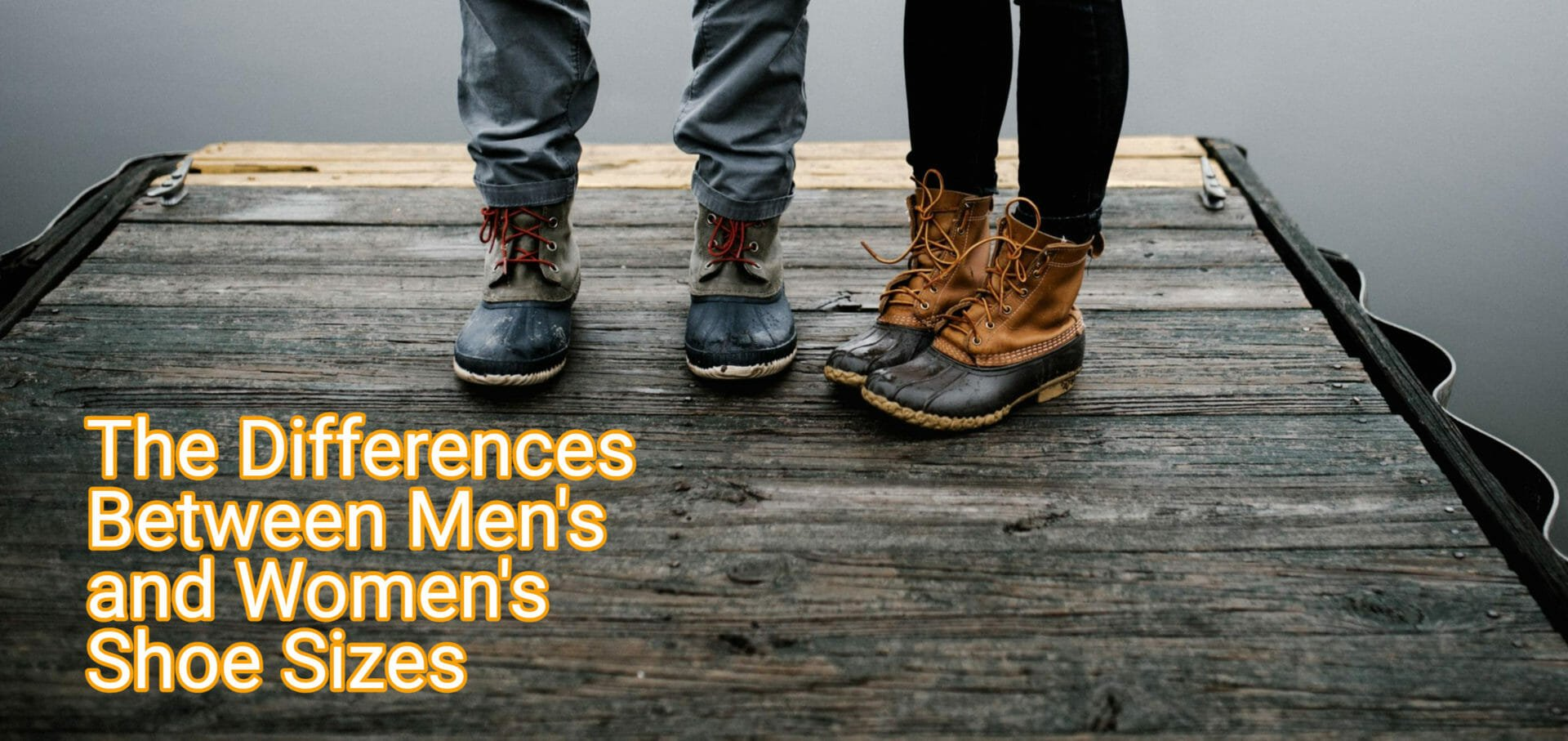 Differences Between Men's and Women's Shoe Sizes