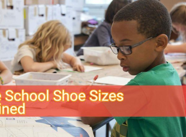 What Are Grade School Sizes In Shoes?